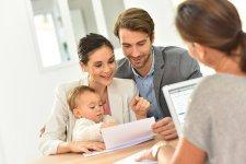 Fiatal gyerekes család első hiteligénylése